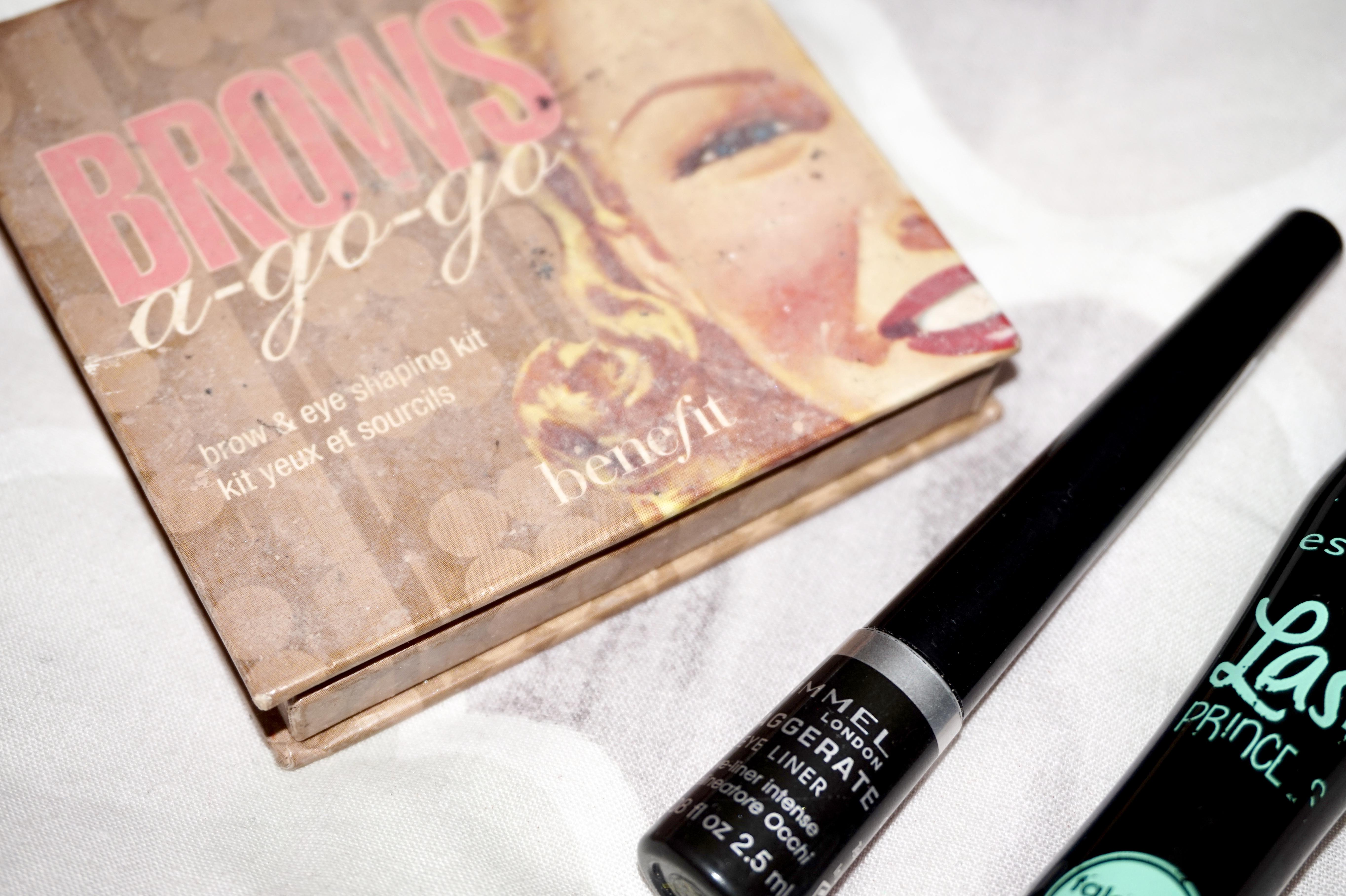 splash of glam make-up eyes