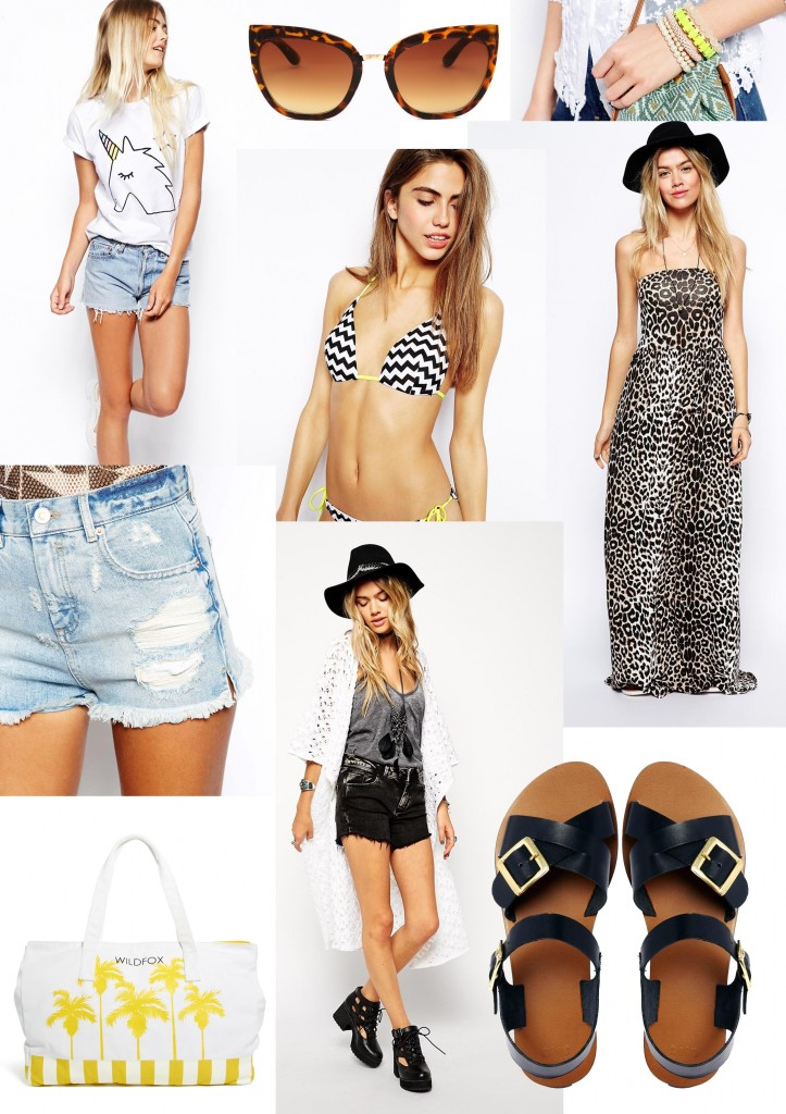 summer wish list moodboard