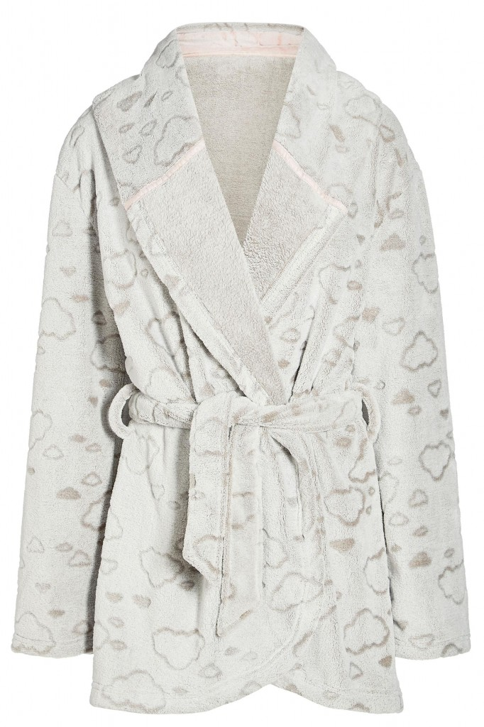 cloud dressing gown