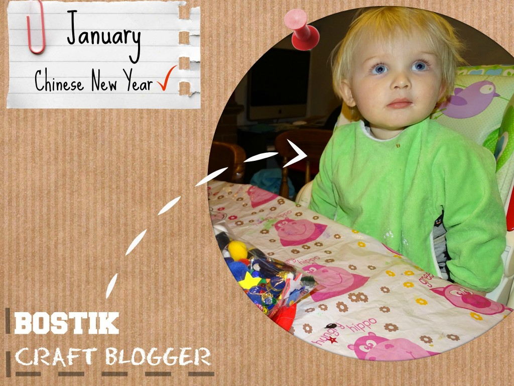 bostik craft blogger january