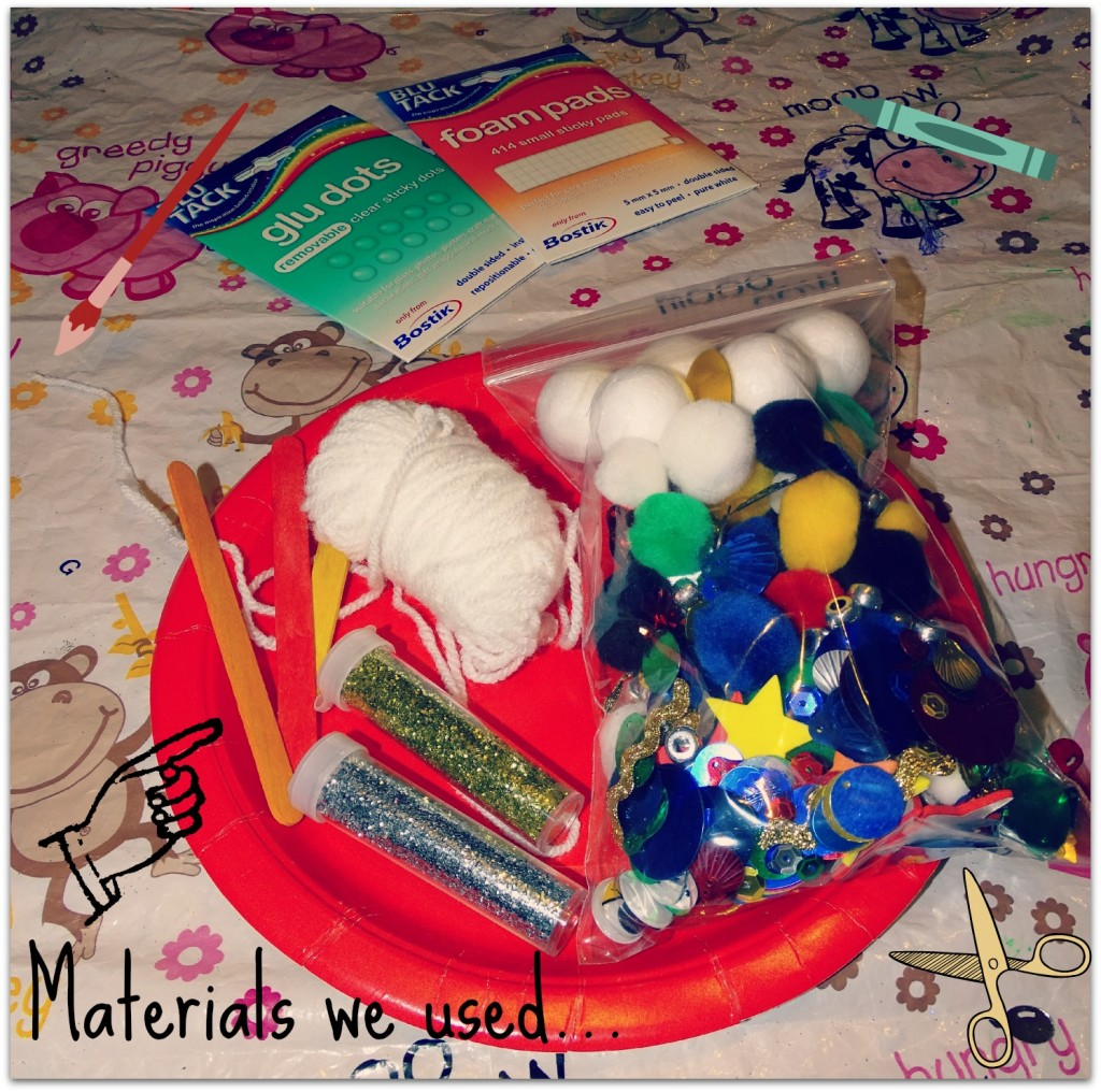 materials we used