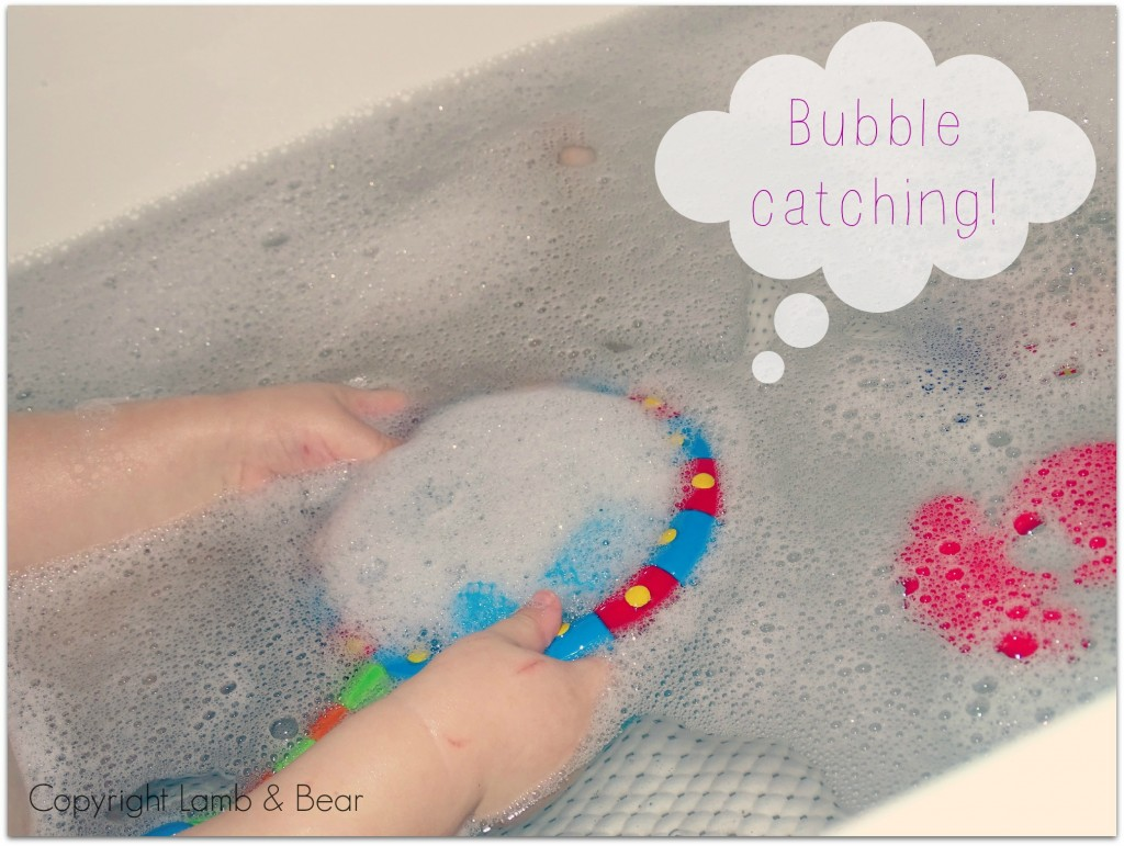 bubble catching