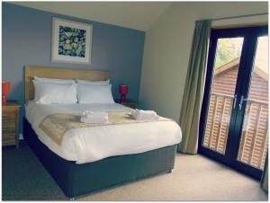 Bluestone Wales - master bedroom