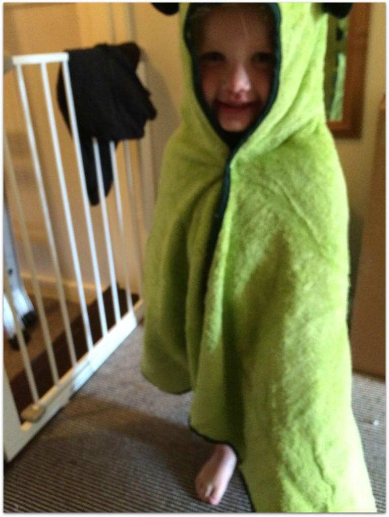 Cuddledry 'Cuddleroar' towel from Wicked Uncle