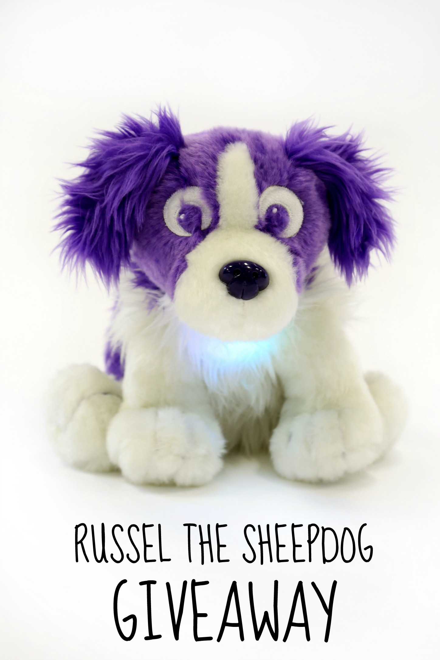 Russell the Dream Sheep Dog pin