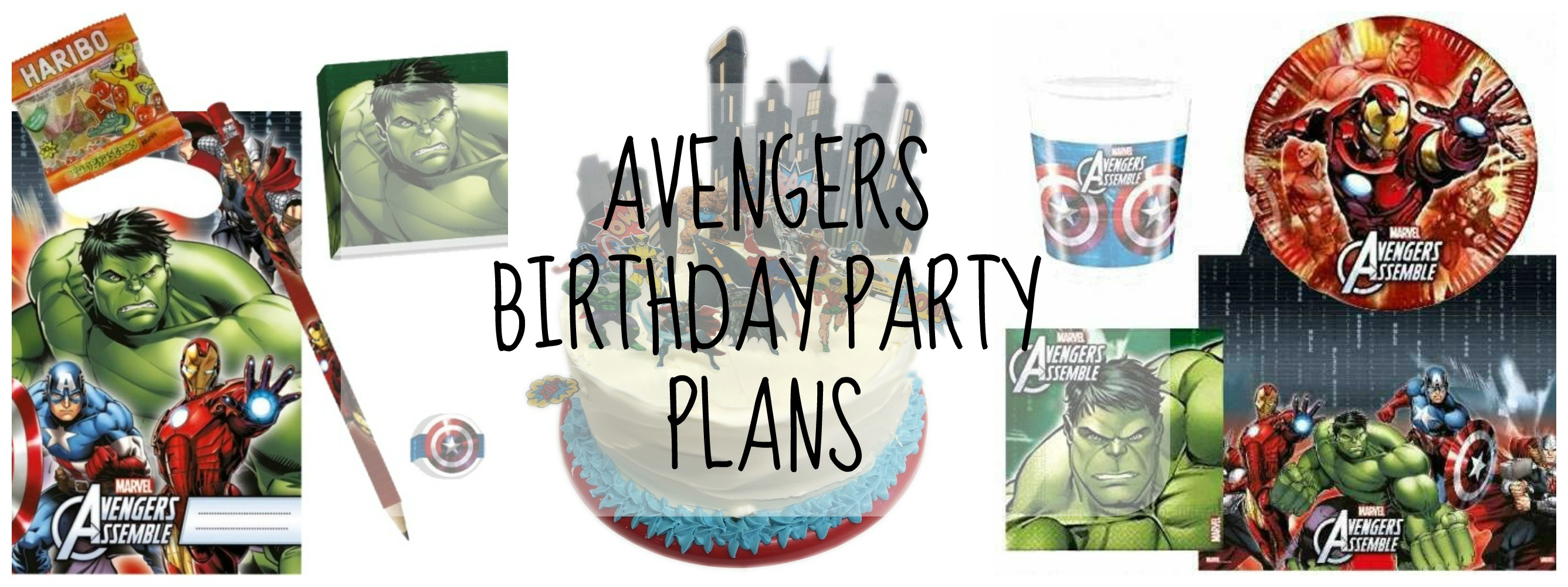 Little Lamb s Avengers 3rd Birthday Party Plans Lamb & Bear
