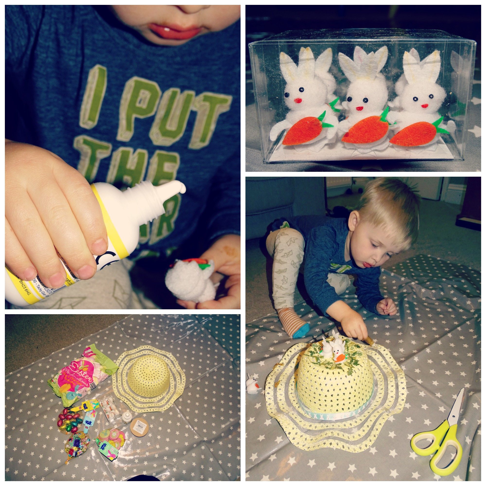 easter bonnet making