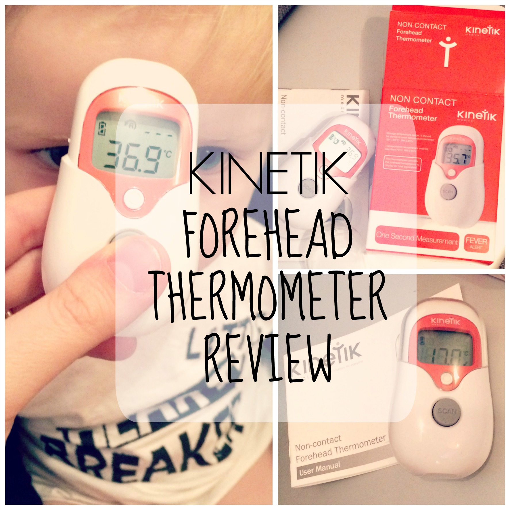 forehead thermometer pin