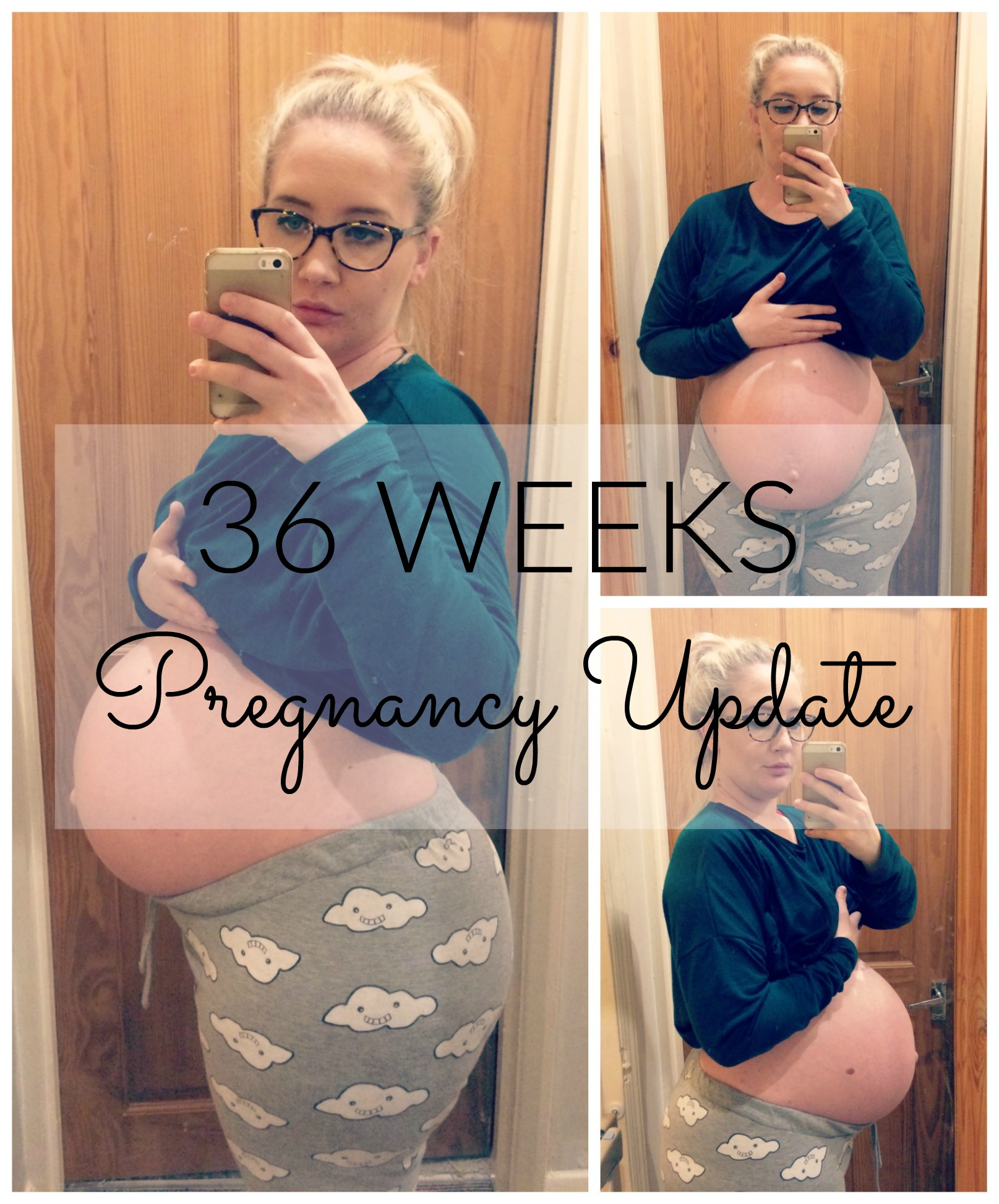 36 weeks pregnancy pin