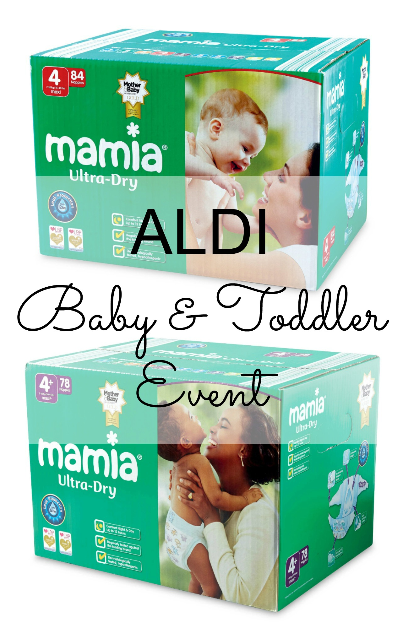 aldi baby & toddler event pin