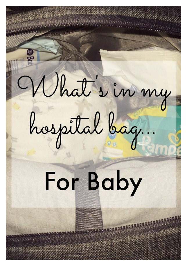 baby hospital bag pin