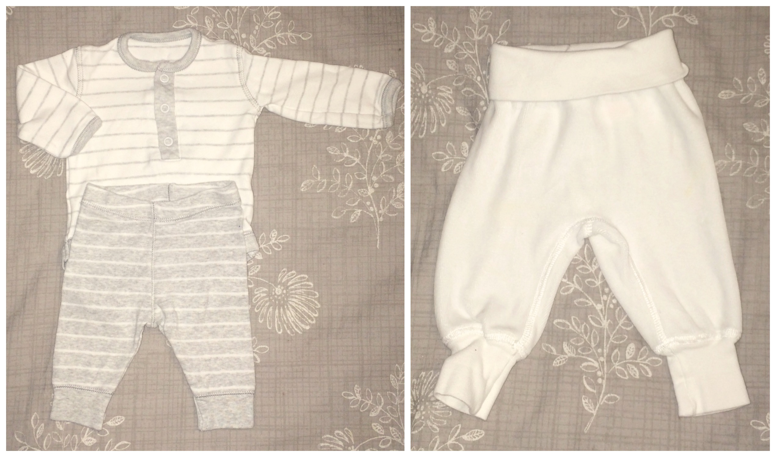 baby hospital bag trousers