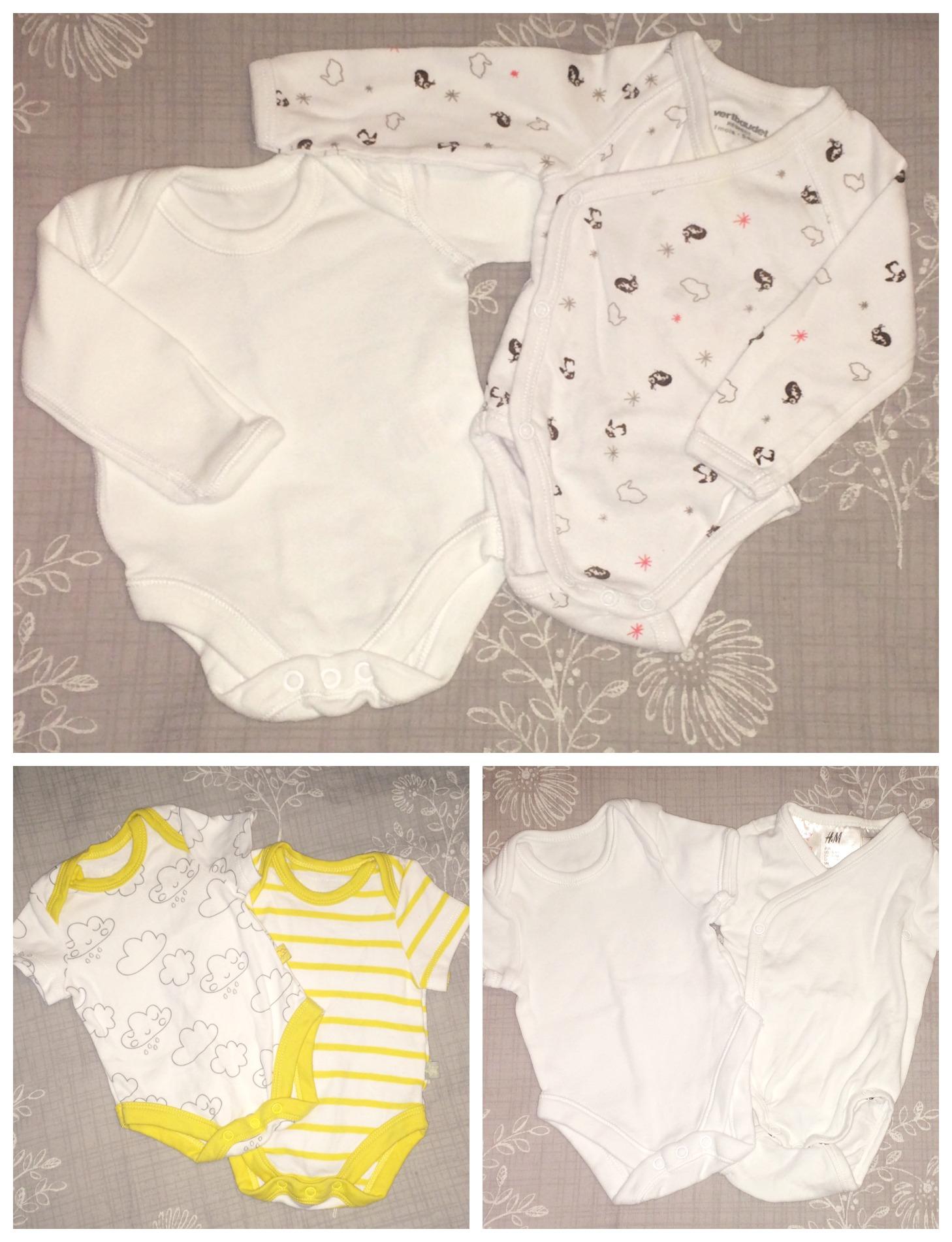 baby hospital bag vests