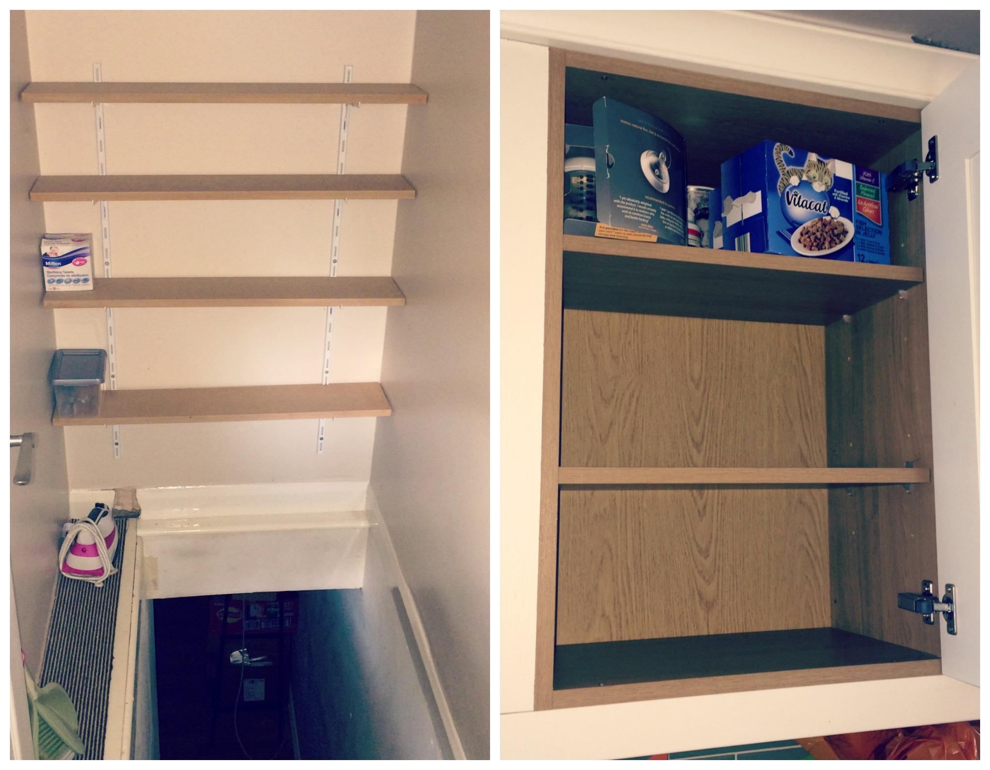 home shelves