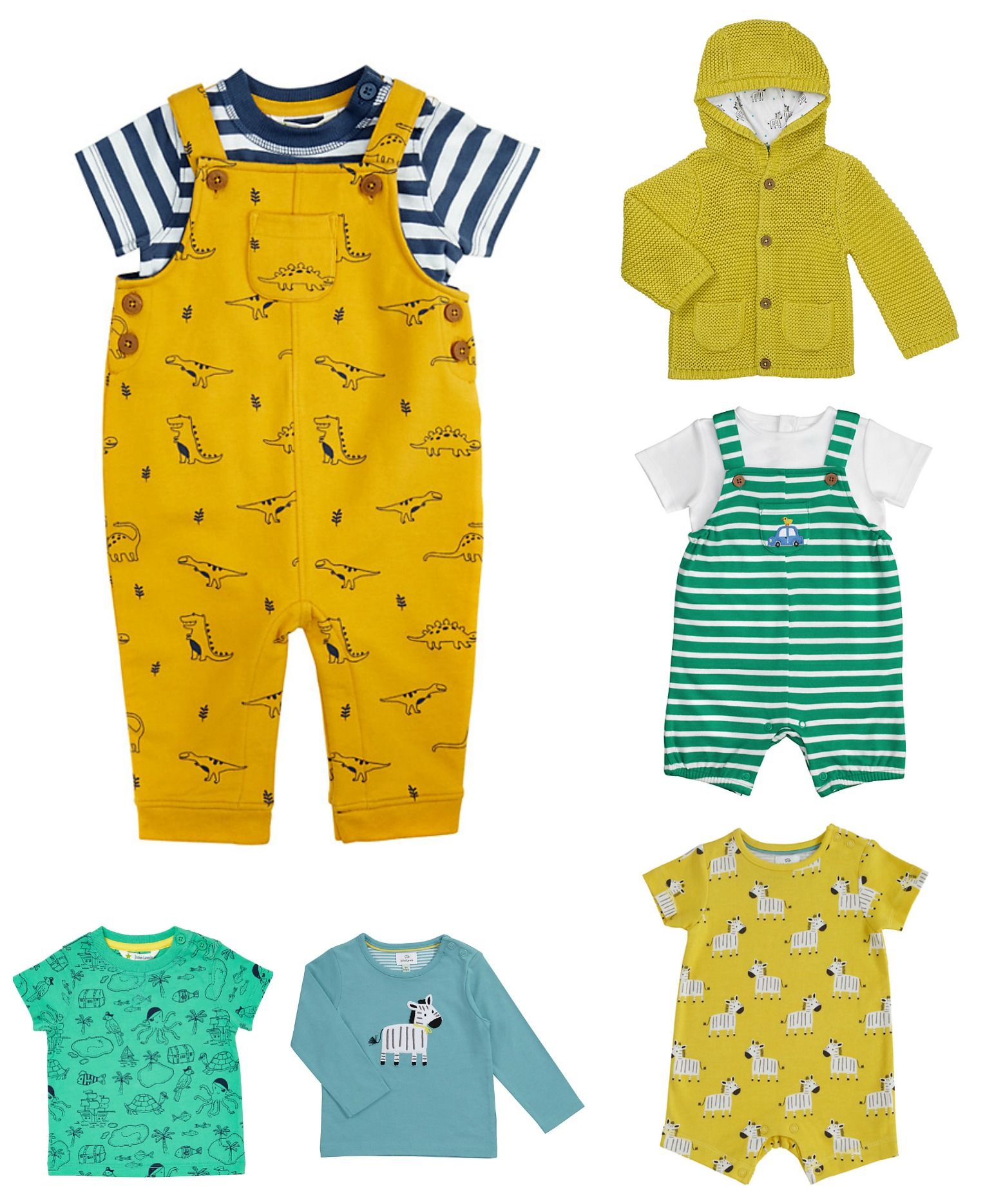 john lewis colourful baby clothes