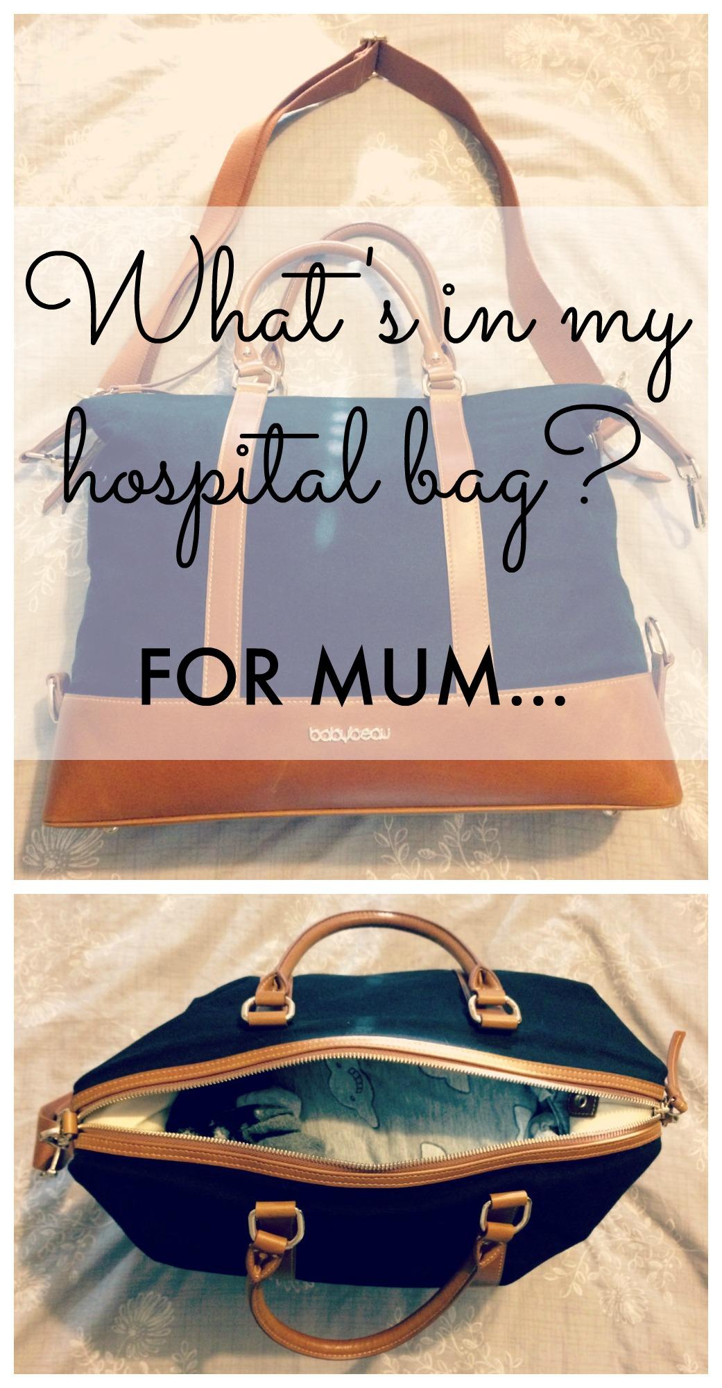 hospital bag mum