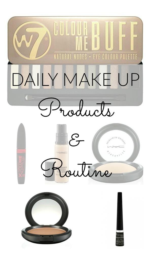 daily make up pin