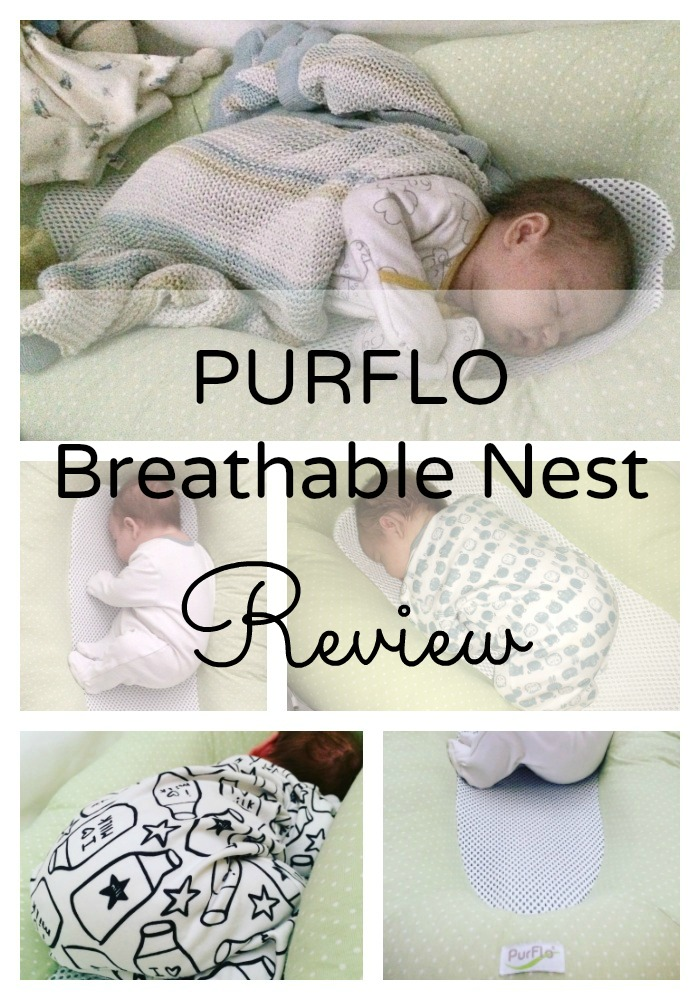 purflo breathable nest collage