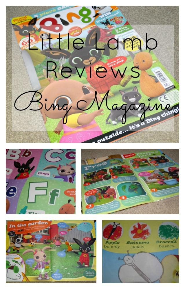 bing magazine pin