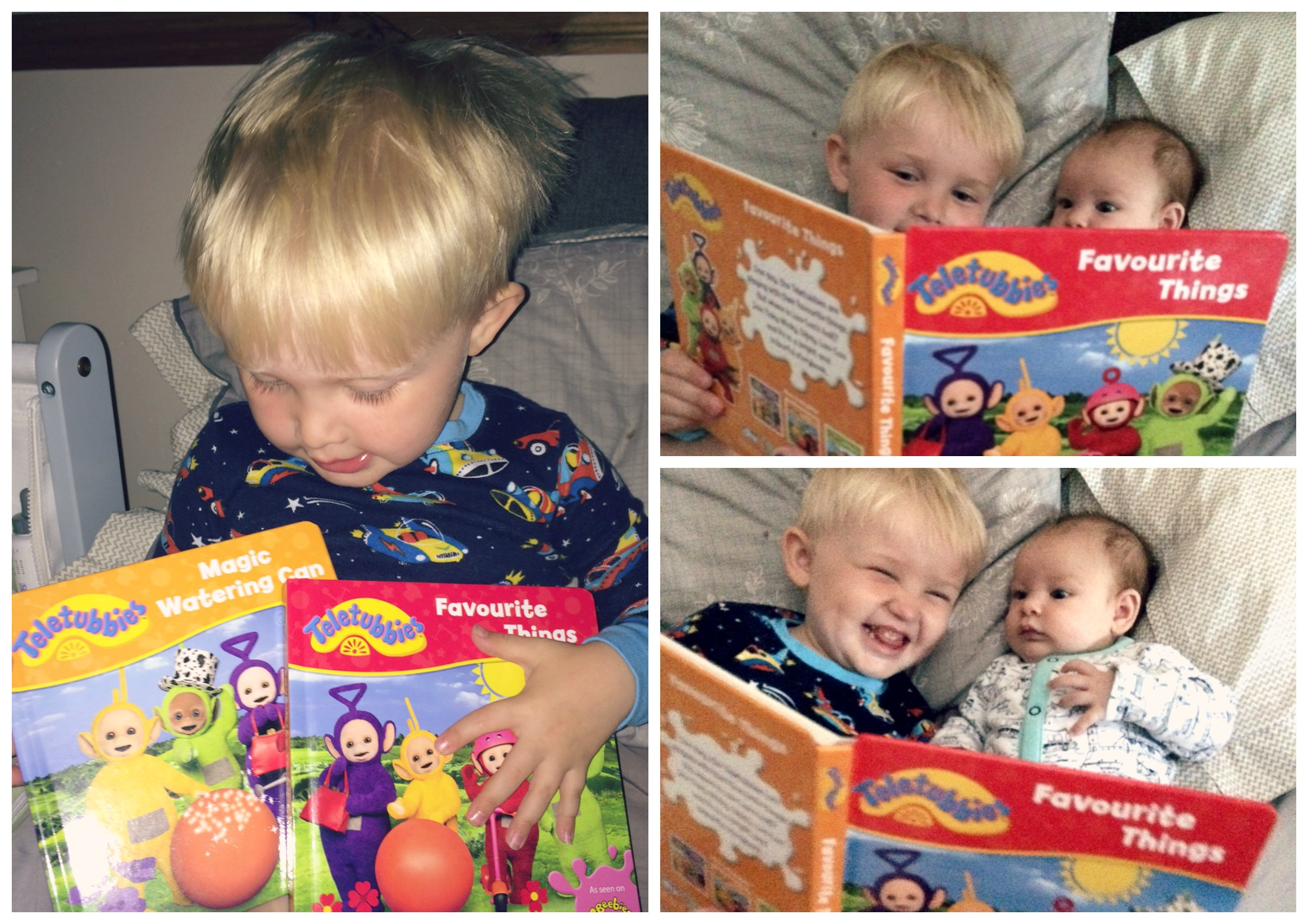 teletubbies book review collage 1