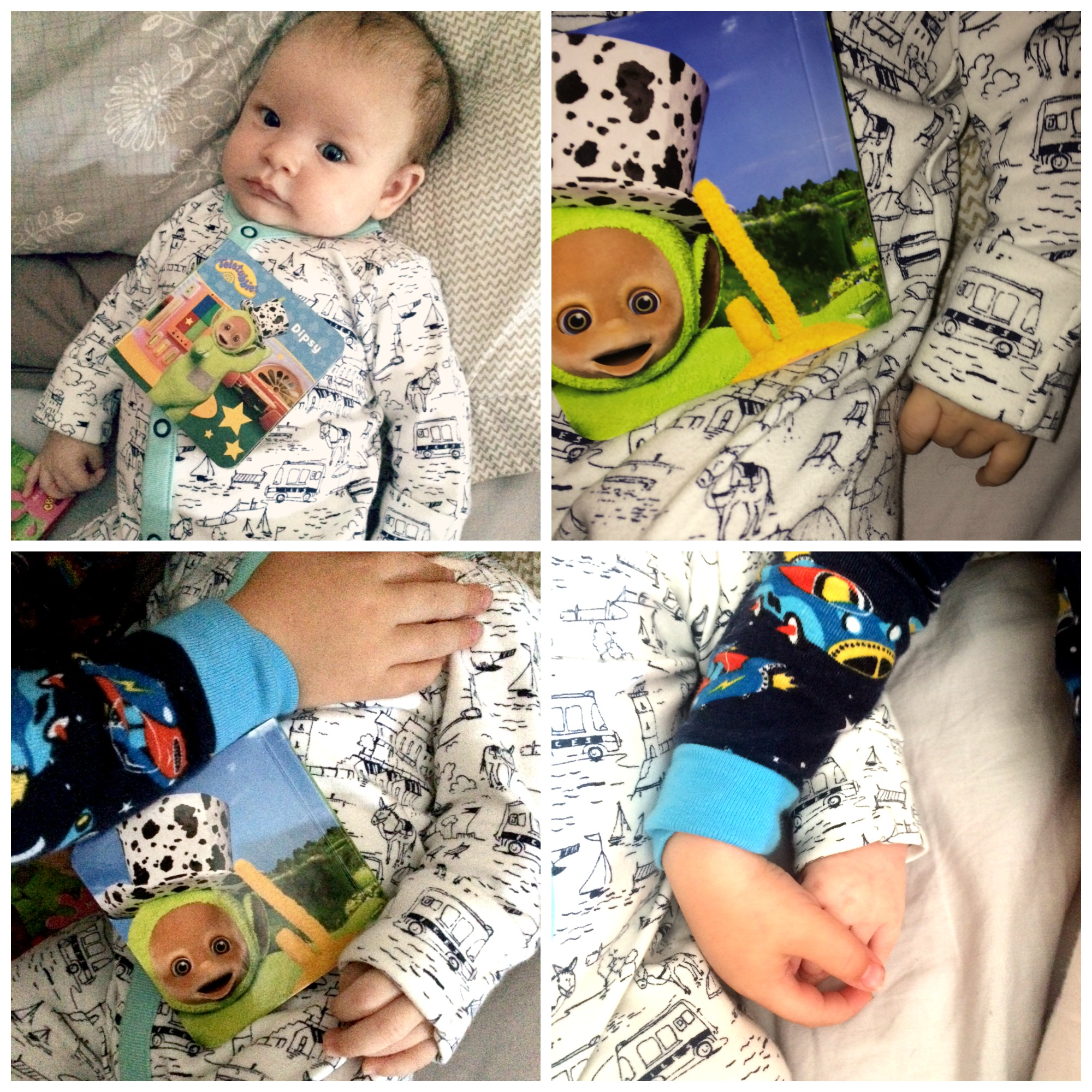 teletubbies book review collage 2