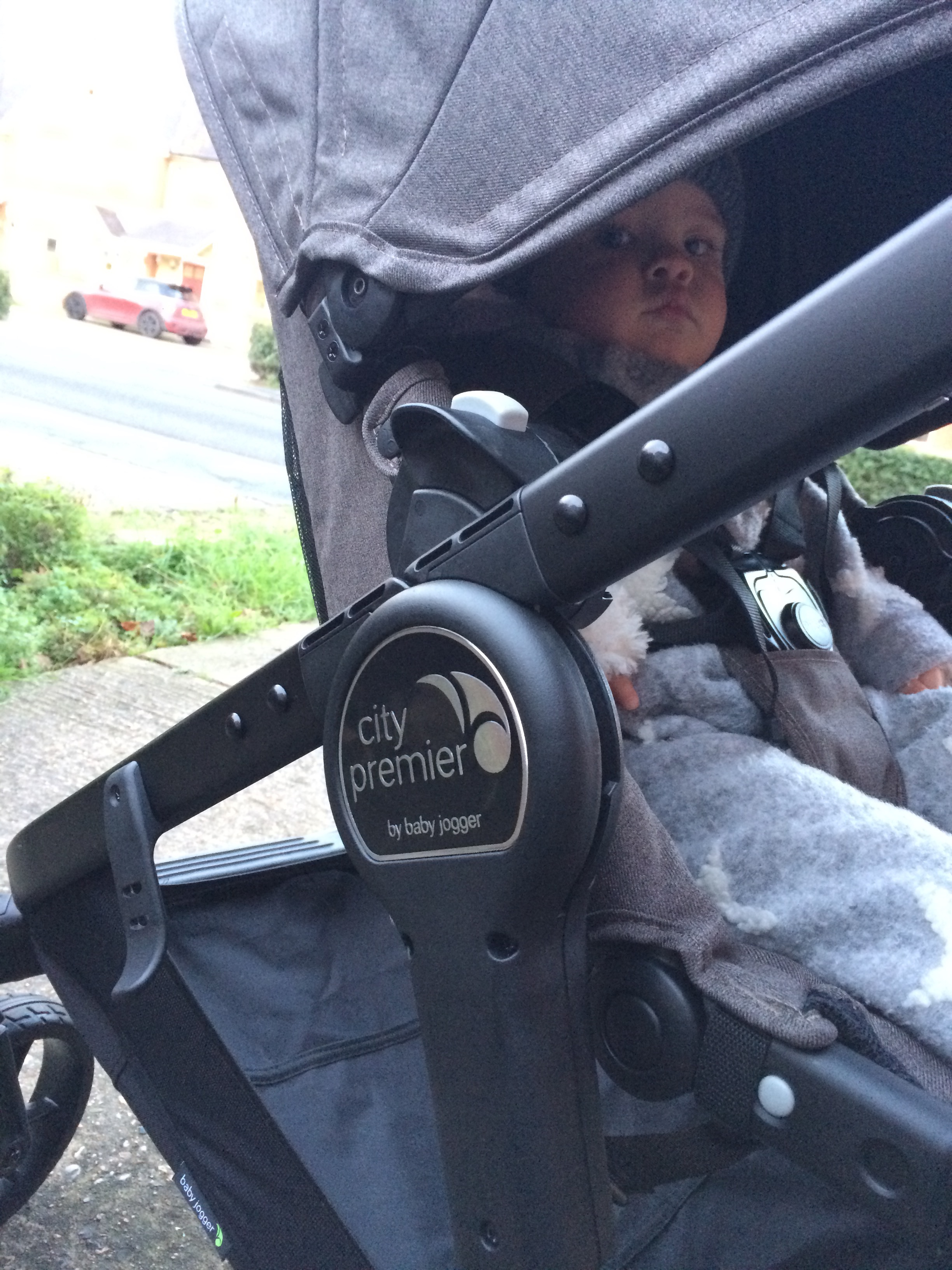baby jogger city premier close up