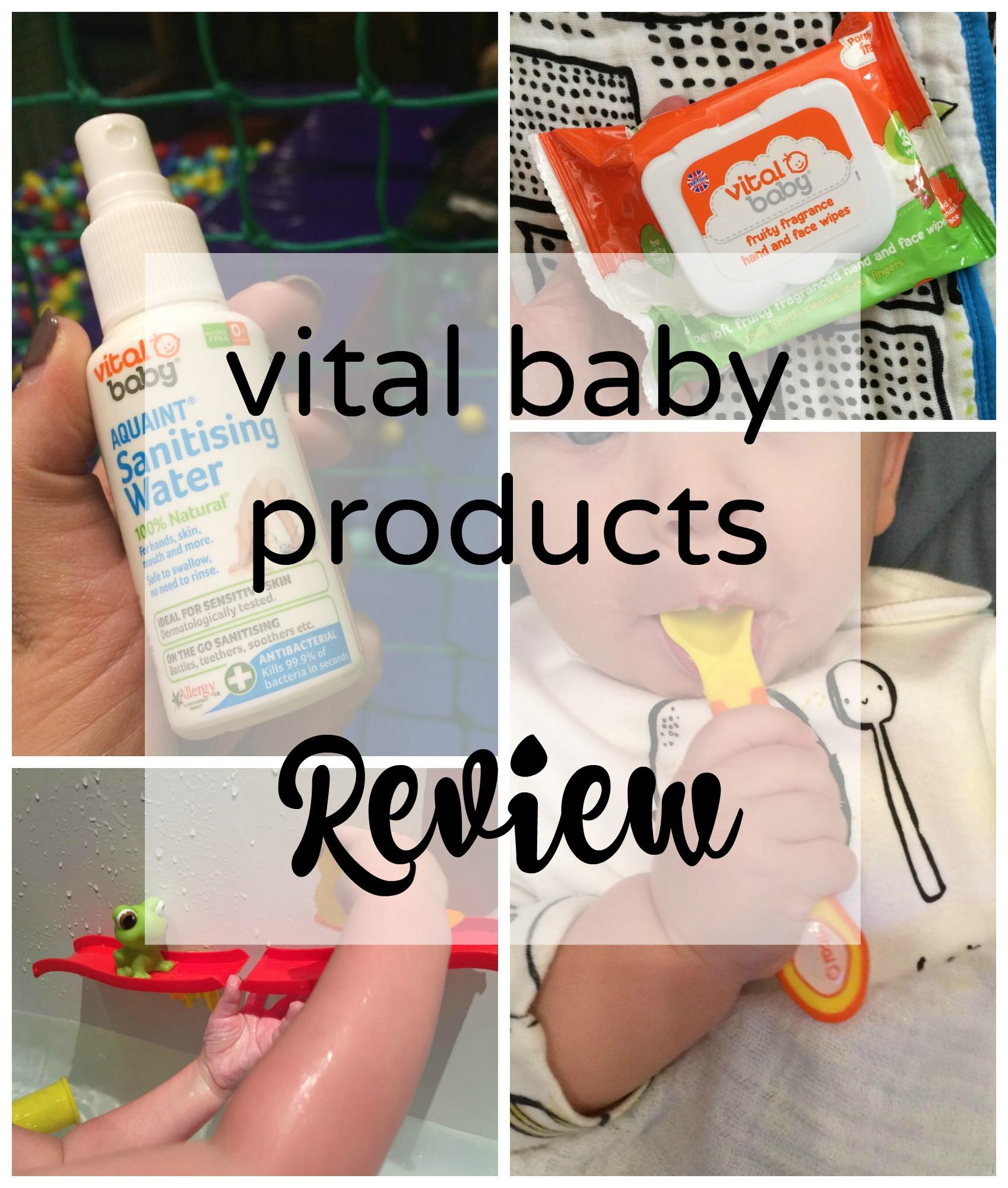 vital baby pin