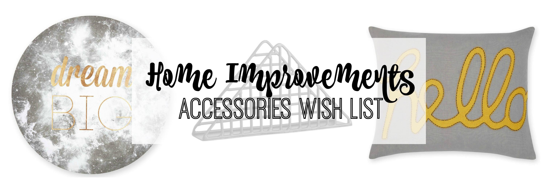 Home improvements accessories wish list lamb bear for Home wish list