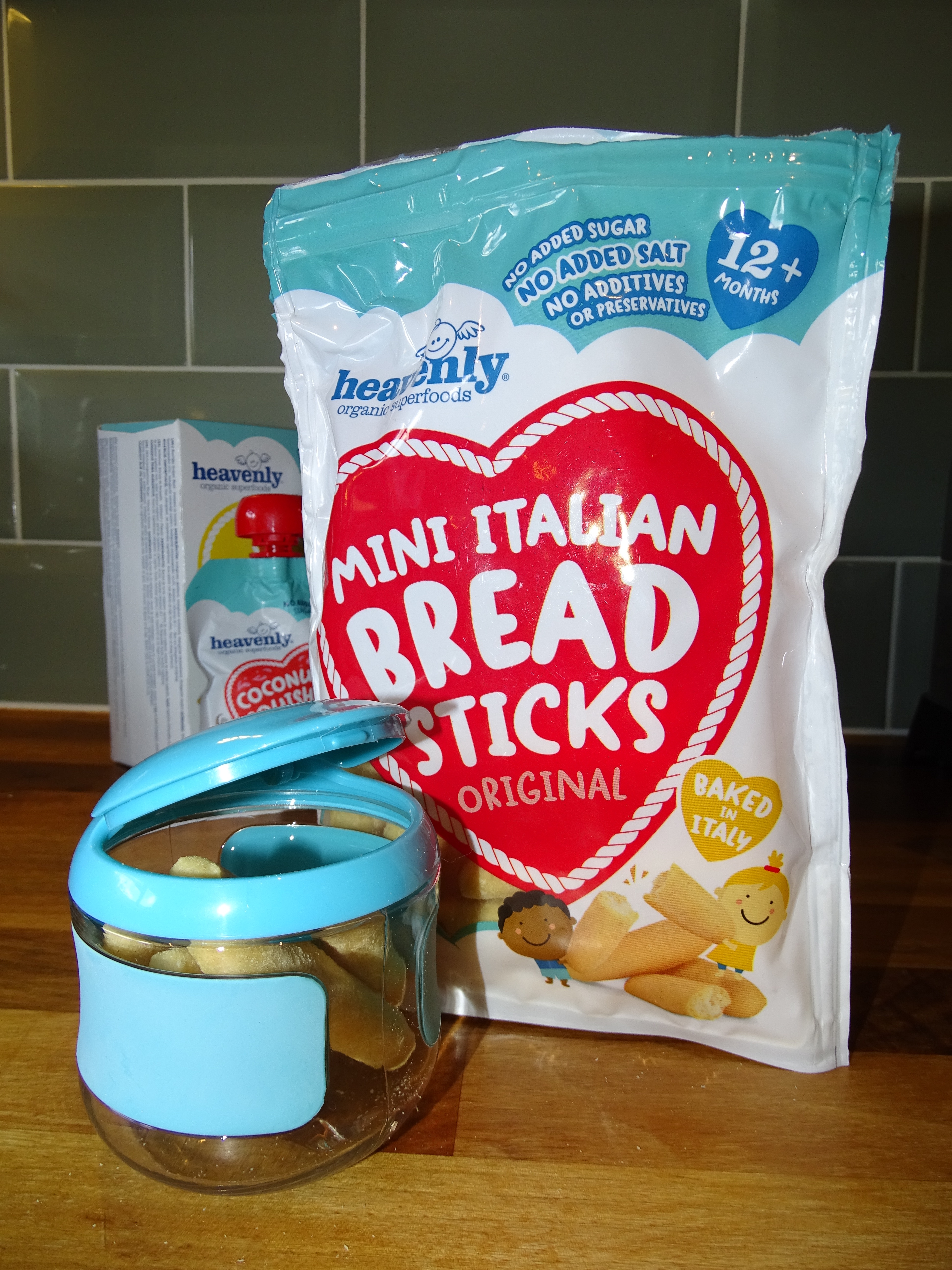 snacking bread sticks