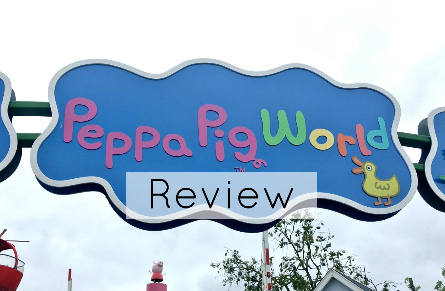 paultons park peppa pig world title