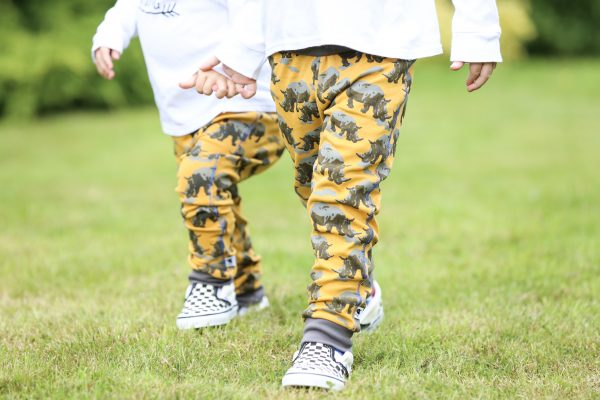 cotton printed leggings rhino siblings