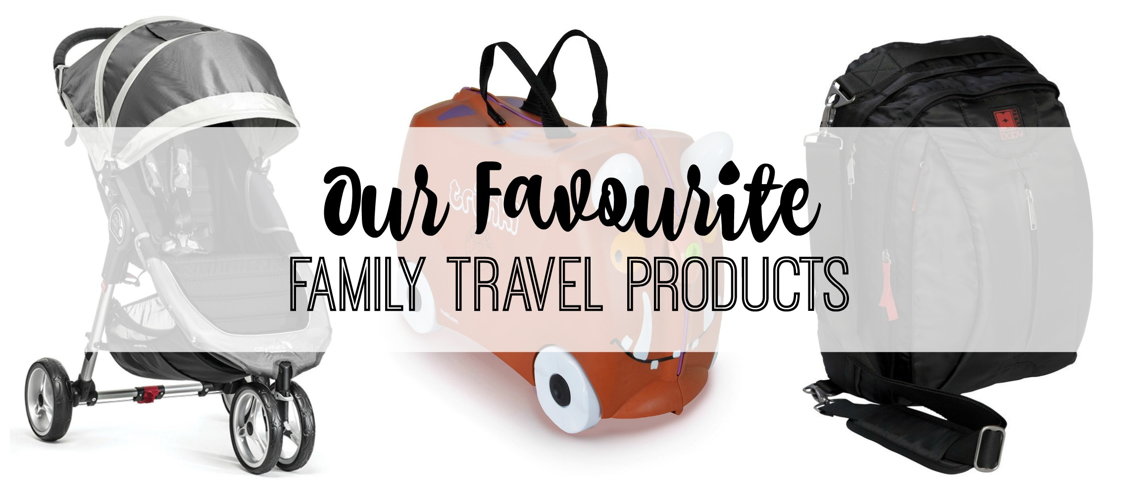 family travel products title