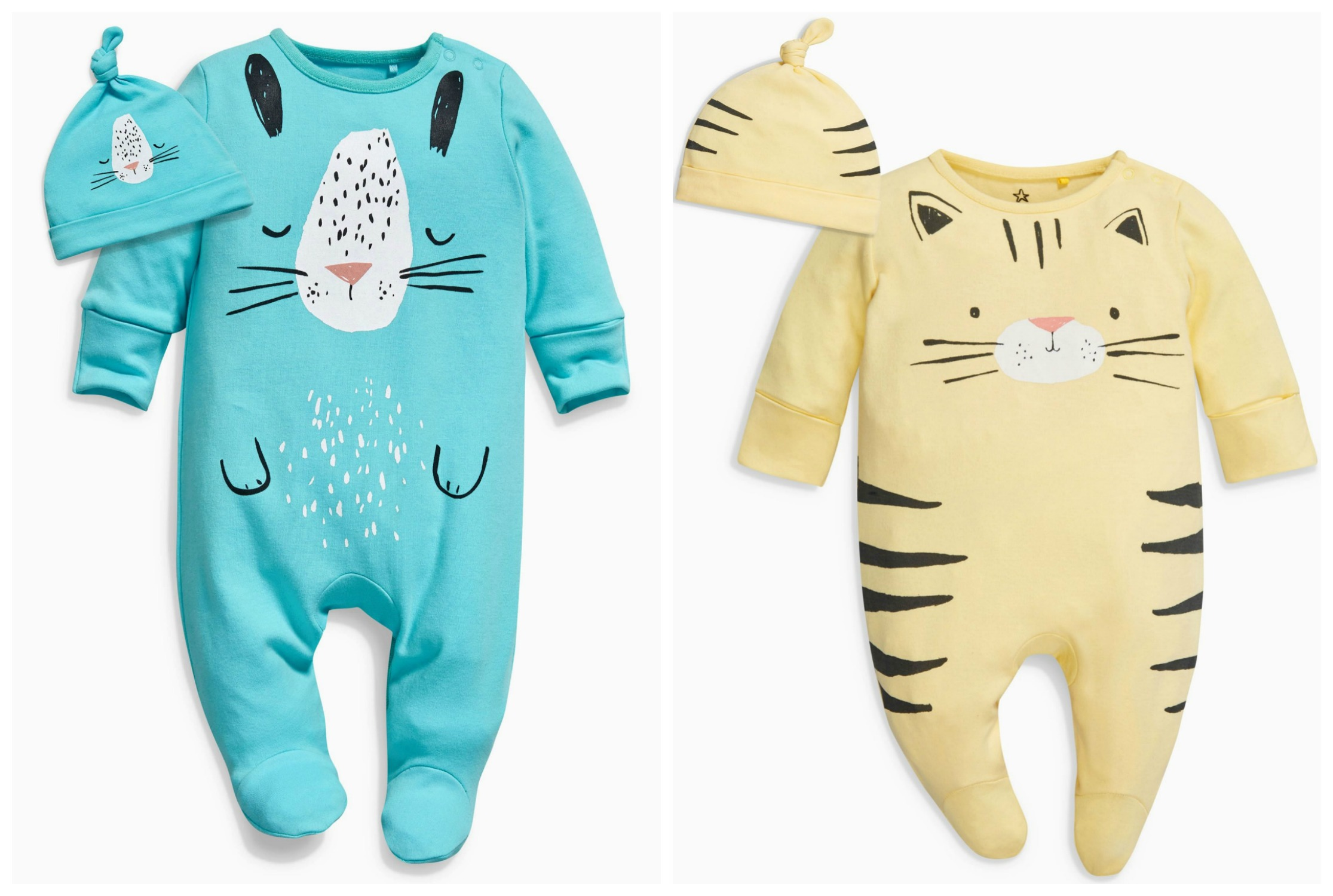 04299150d8a6c Gender Neutral 'Coming Home' Outfits - Soft Colours - Lamb & Bear