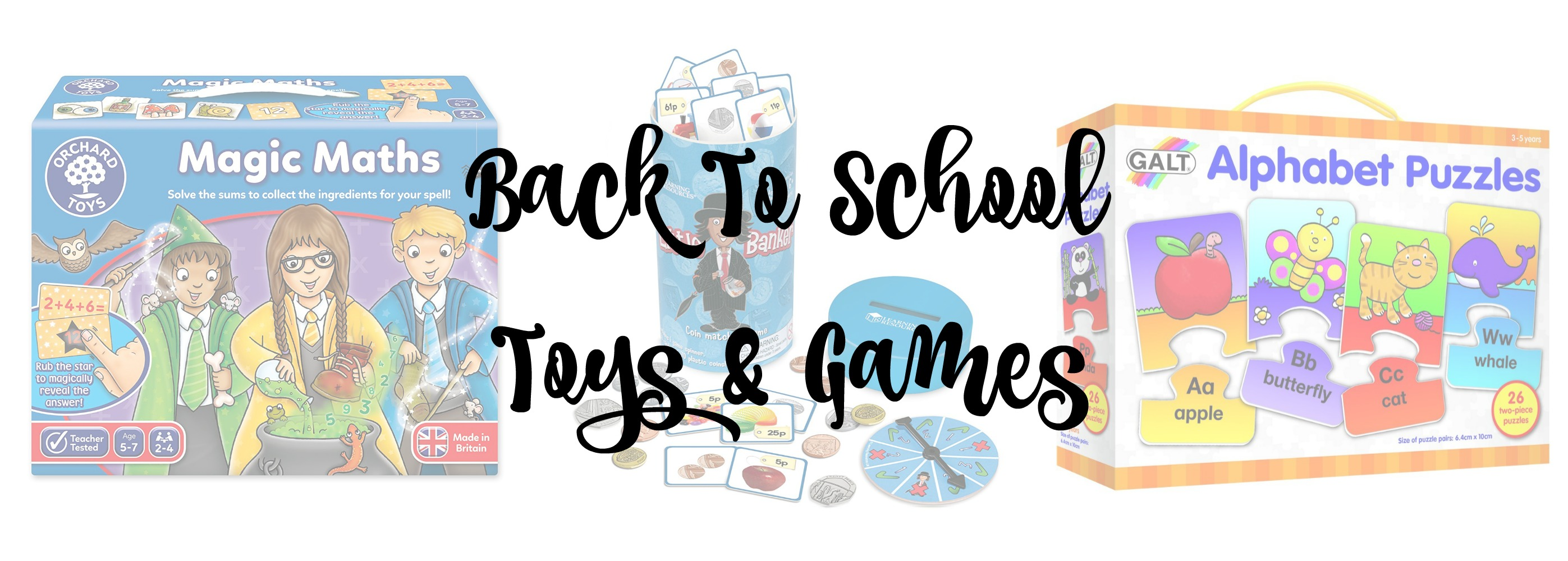 back to school toys title
