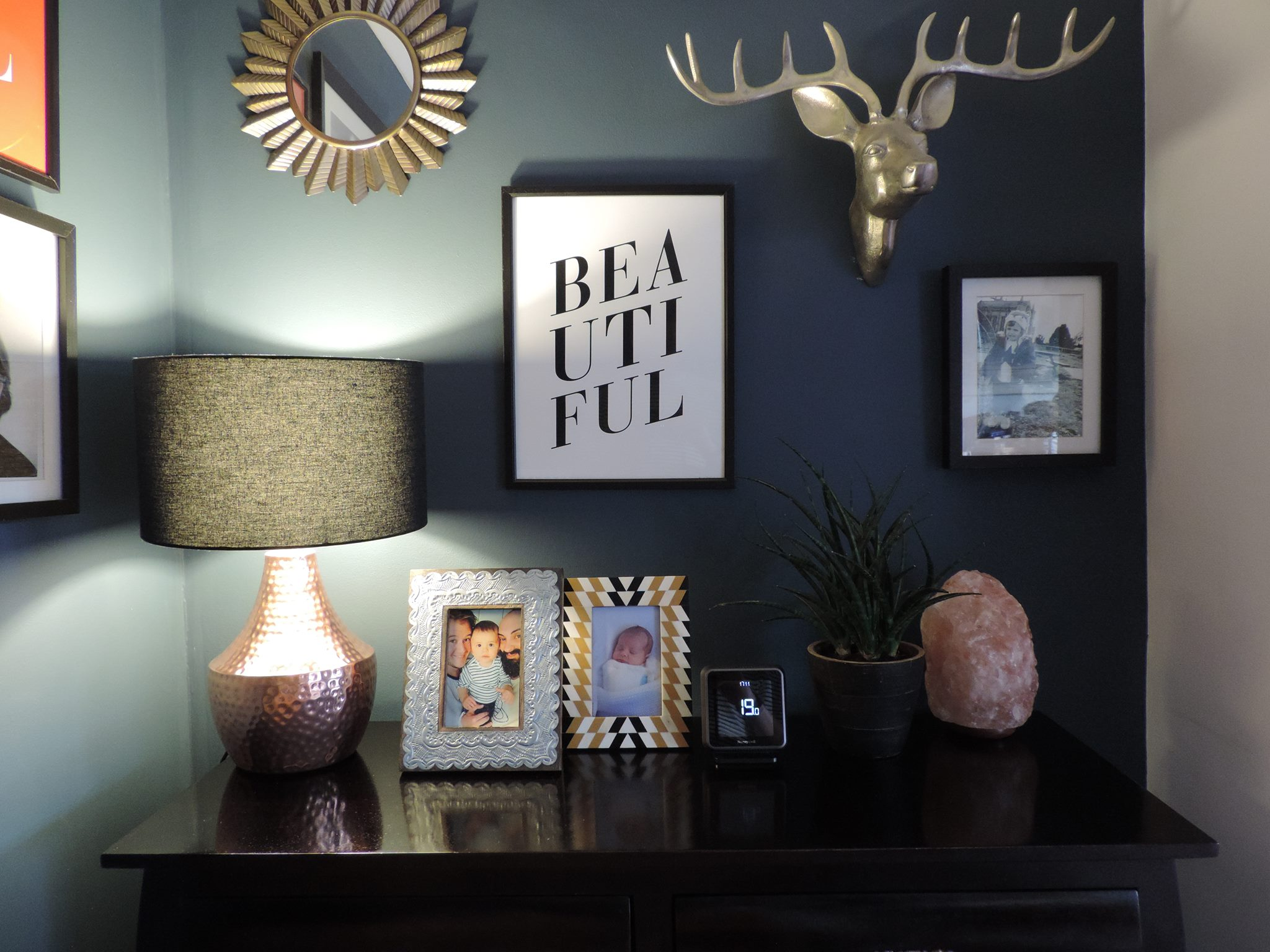 feature wall frames