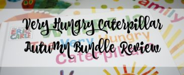 Very Hungry Caterpillar Autumn Bundle Review