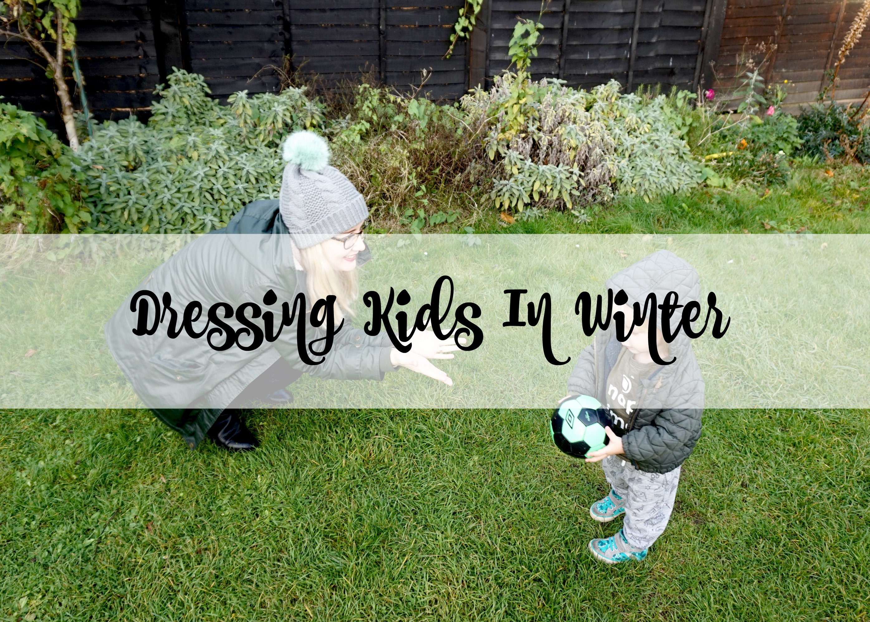dressing kids in winter