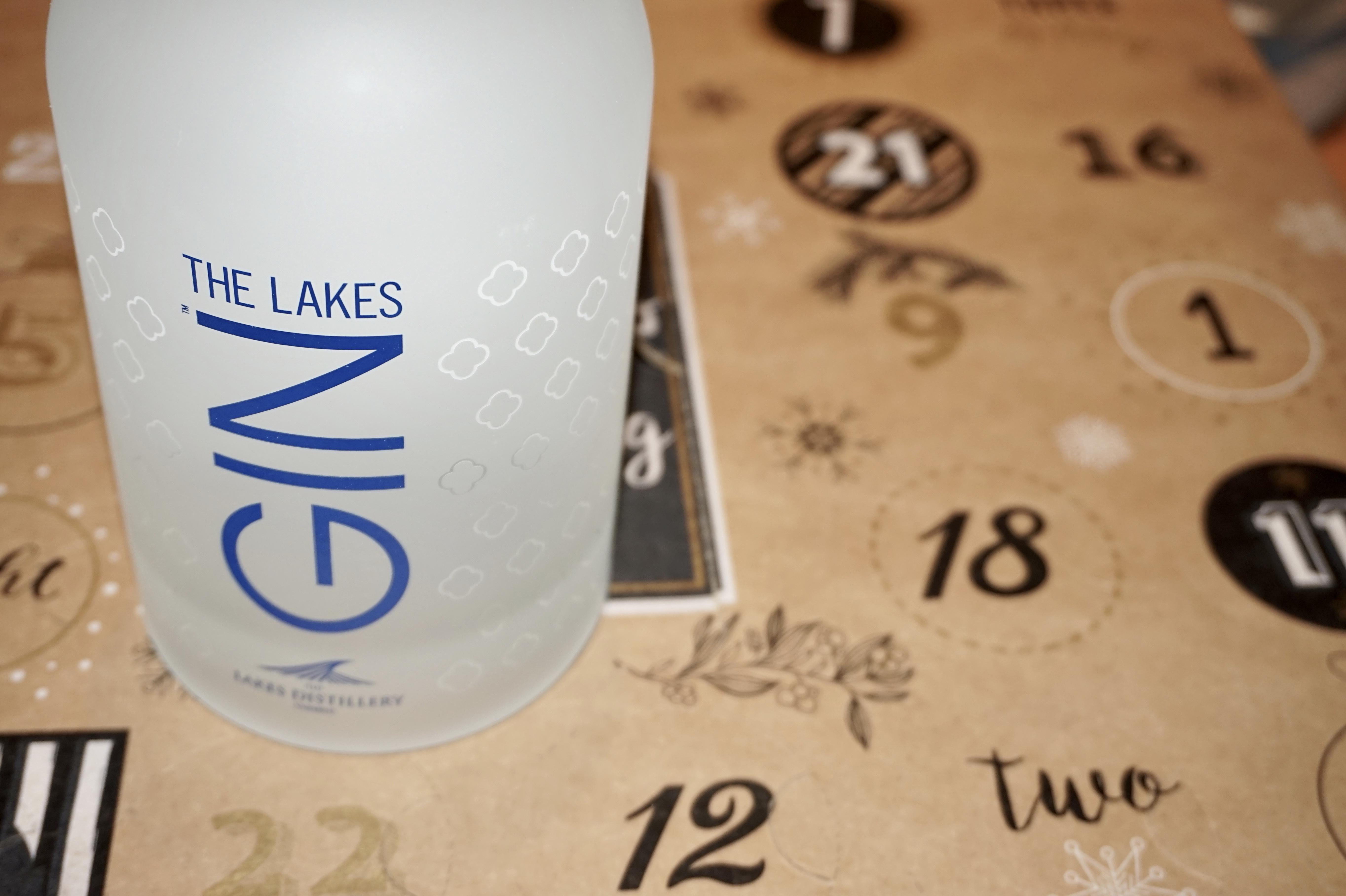 gin bottle advent calendar