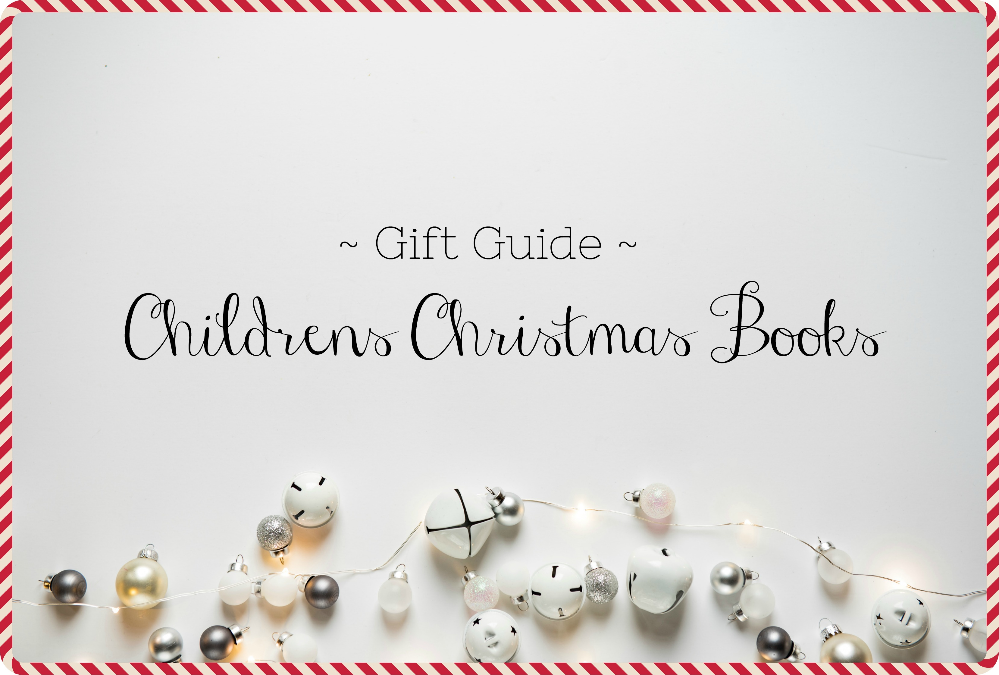 Christmas books title