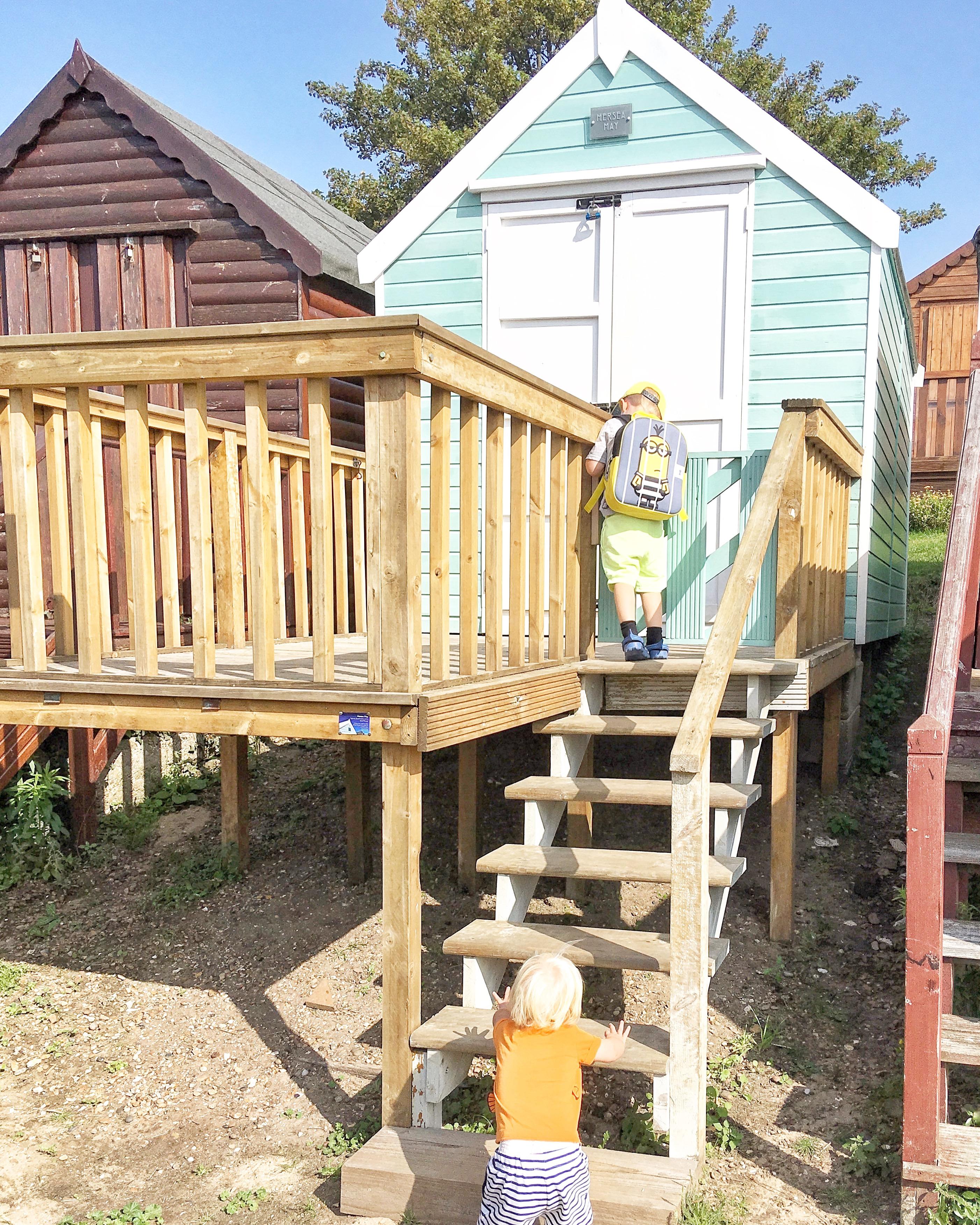 Mersea may beach hut