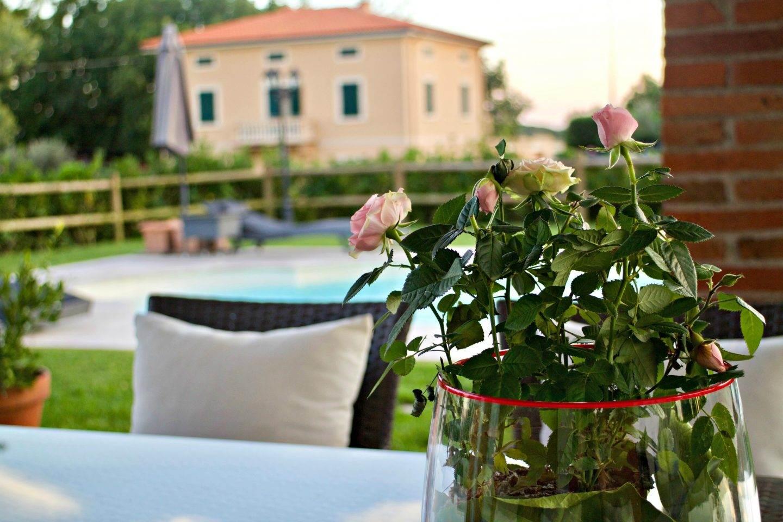 family travel - Tuscany villa