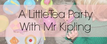 A Little Tea Party With Mr Kipling