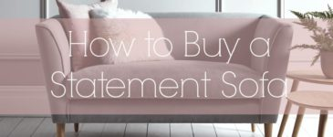 How to Buy a Statement Sofa