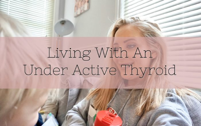 Living With An Under Active Thyroid