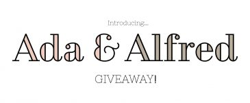 Introducing My New Brand… With A Giveaway!!!