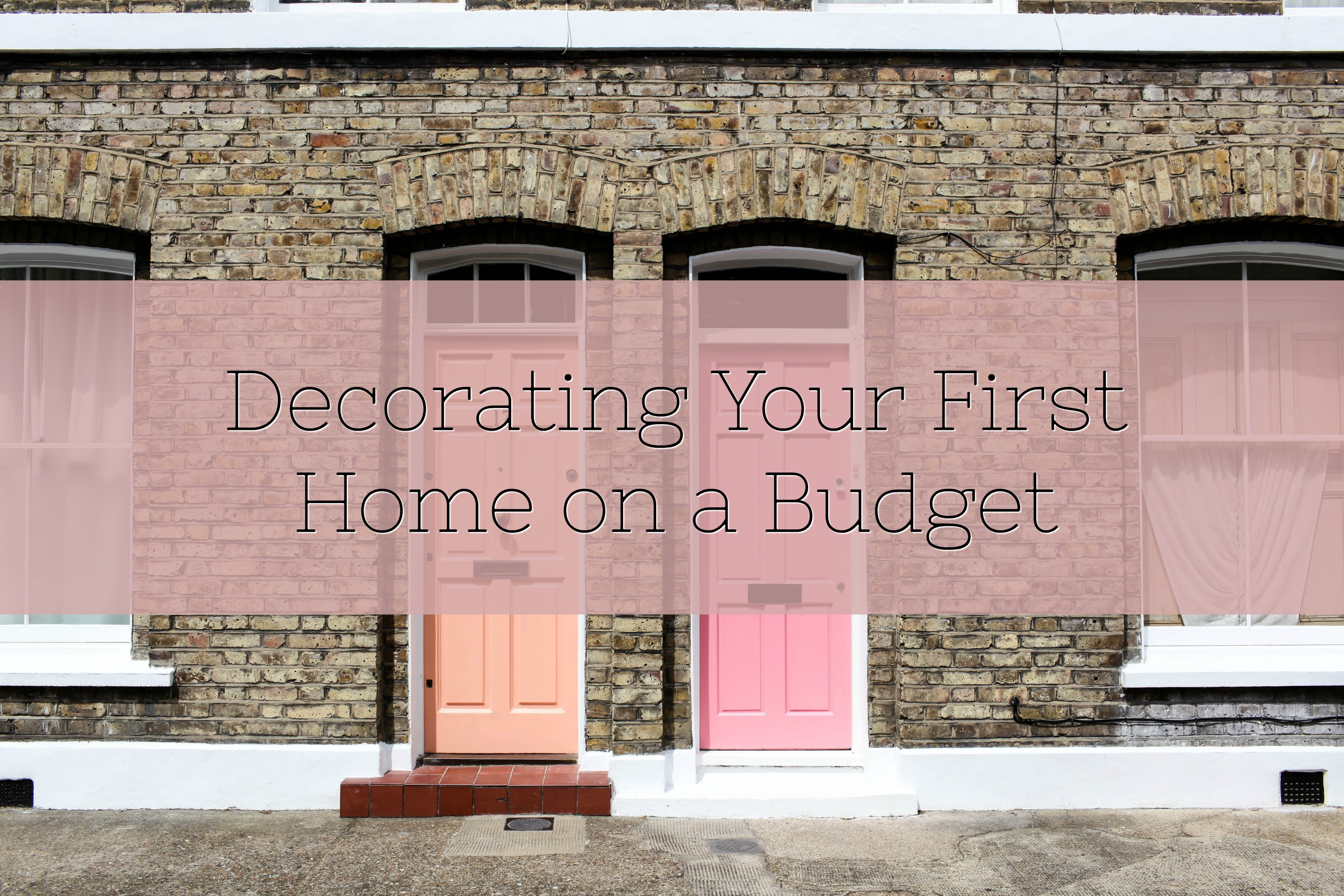 decorating your first home title