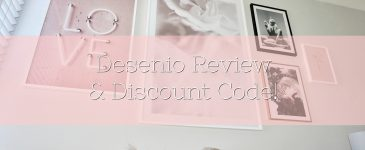 My Walls Have Never Looked So Pretty! Desenio Review & Discount Code!