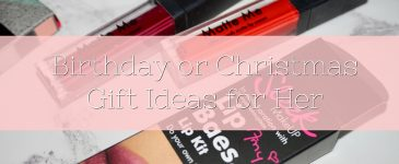 Birthday or Christmas Gift Ideas for Her
