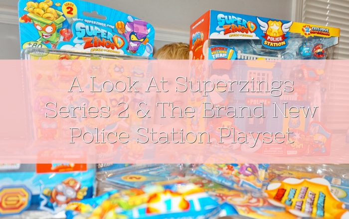 A Look At Superzings Series 2 & The Brand New Police Station Playset