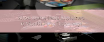 Xbox Game Pass Explained – 6 Month Pass Giveaway!